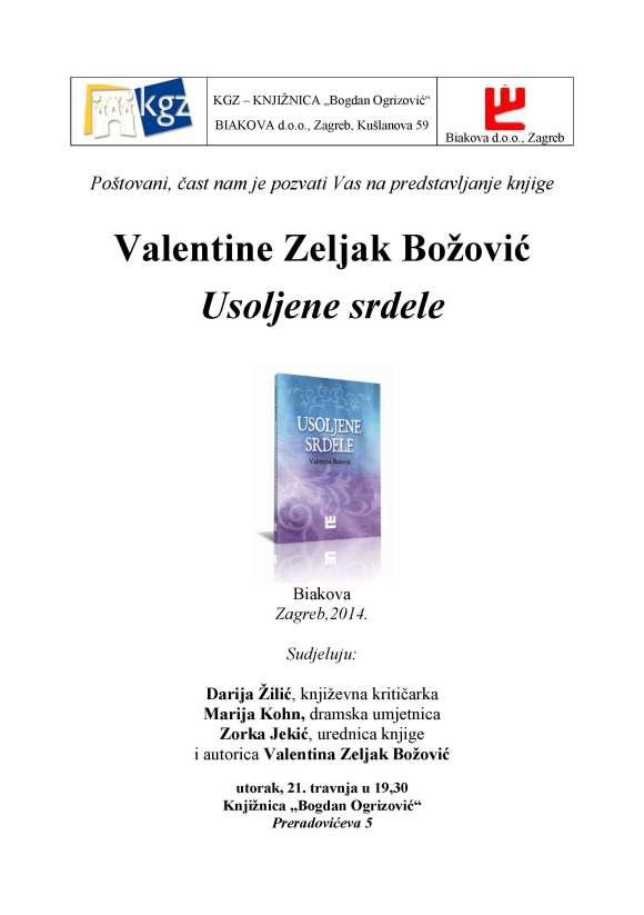 Pozivnica Valentina 21. 04. 2015