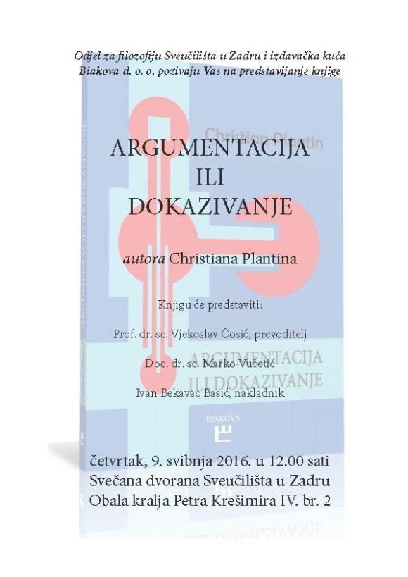 predstavljanje Argumentacije Zadar