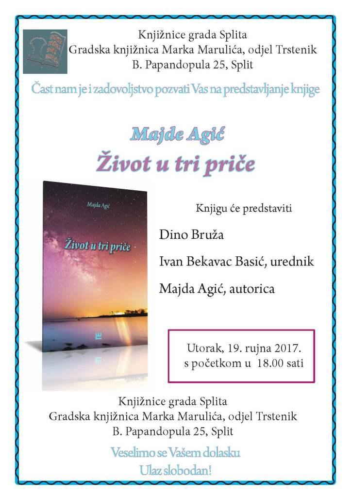 pozivnica Majda Agić