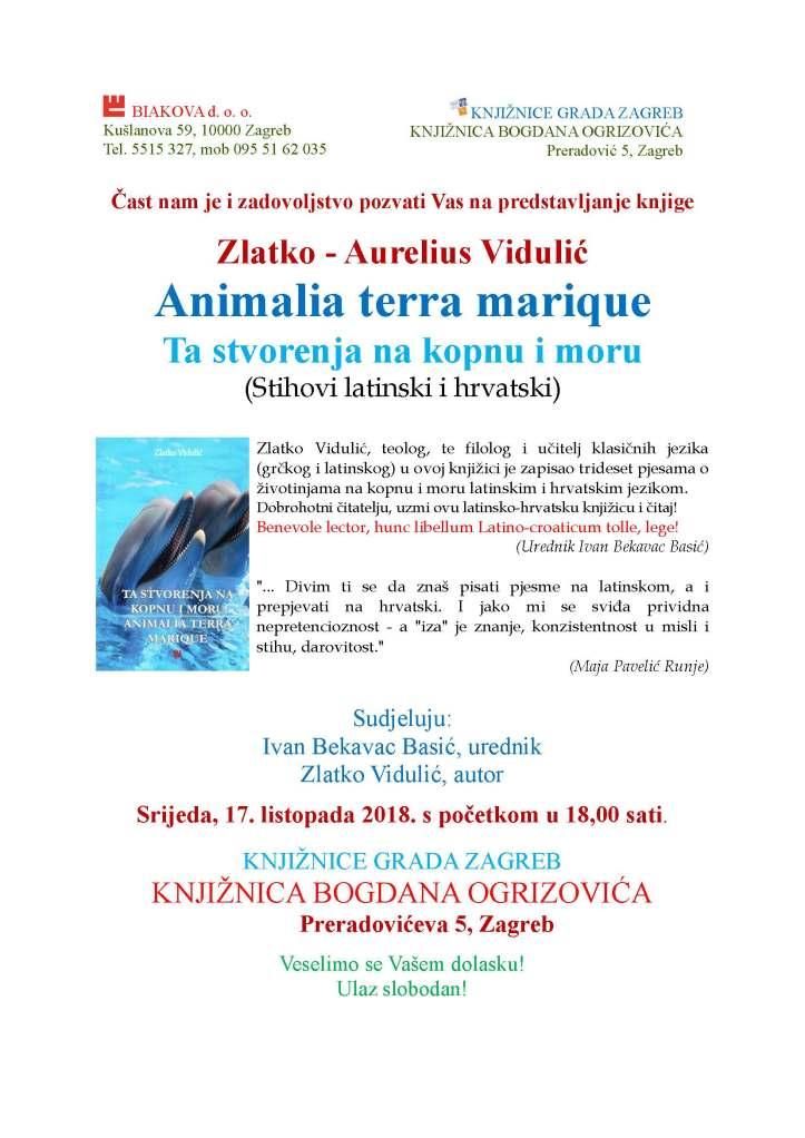 Vidulic Animalia predstavljanje 17 10 2015 OGRIZOVIC sa slikom II